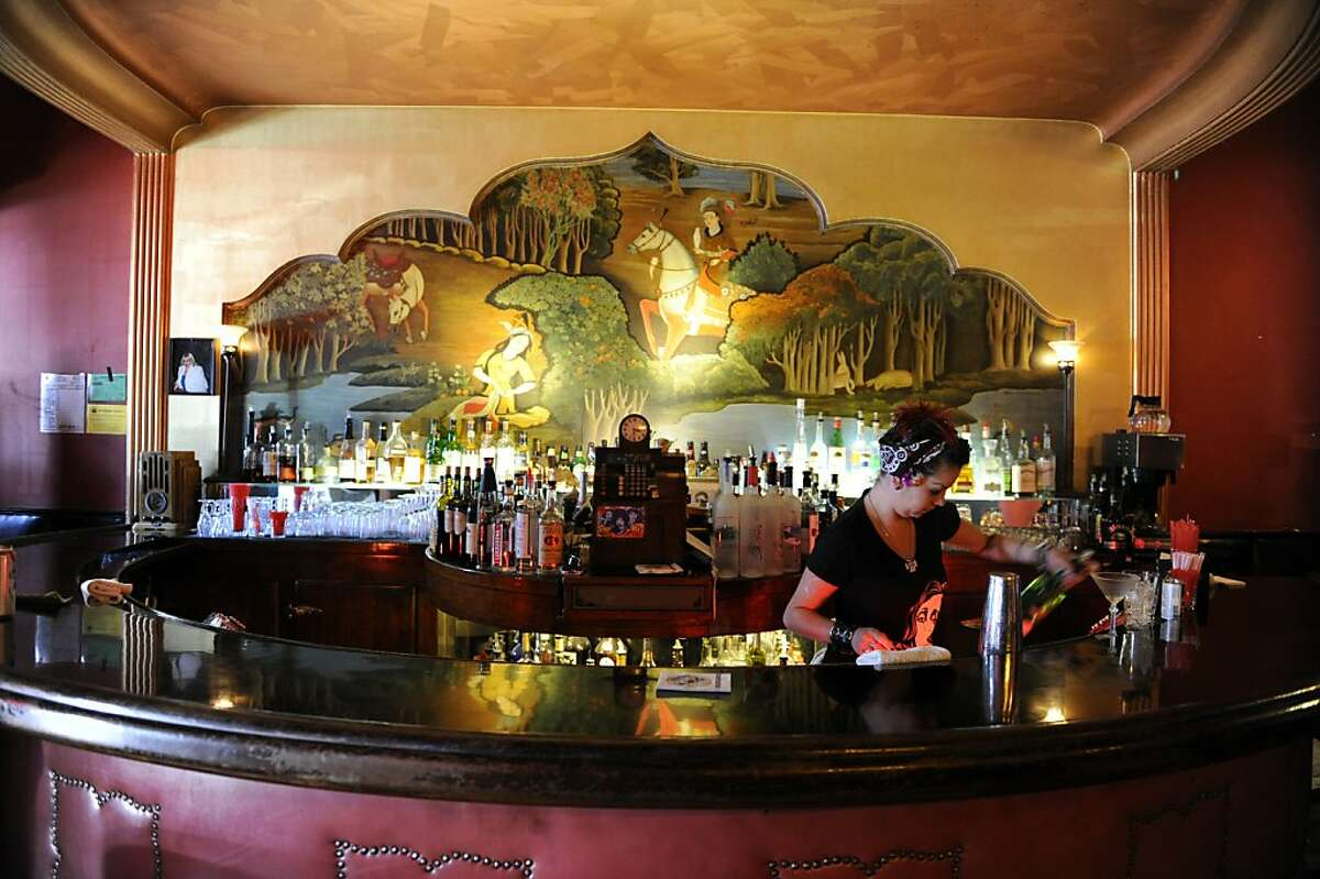 Aub Zam Zam's bar is located at 1633 Haight Street on June 13, 2012, in San Francisco, Calif.