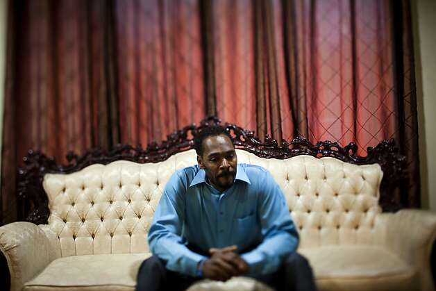 Rodney Glenn King is photographed at his home in Rialto, California, March 25, 2012. King, whose beating by police was caught on videotape and then sparked the L.A. riots when the accused police were acquitted, has died. He was 47. (Jay L. Clendenin/Los Angeles Times/MCT) Photo: Jay L. Clendenin, McClatchy-Tribune News Service