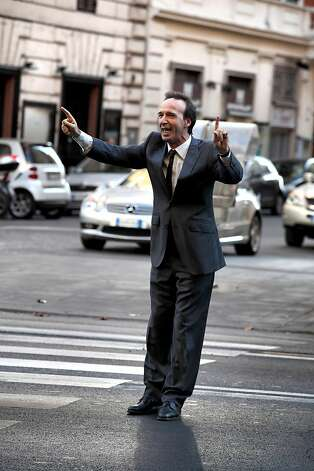 "Woody Allen's ""To Rome With Love."": Roberto Benigni Photo: Philippe Antonello, Sony Pictures Classics"