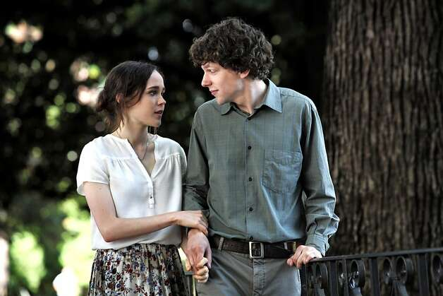 "Woody Allen's ""ToO Rome With Love."": Ellen Page and Jesse Eisenberg Photo: Philippe Antonello, Sony Pictures Classics"