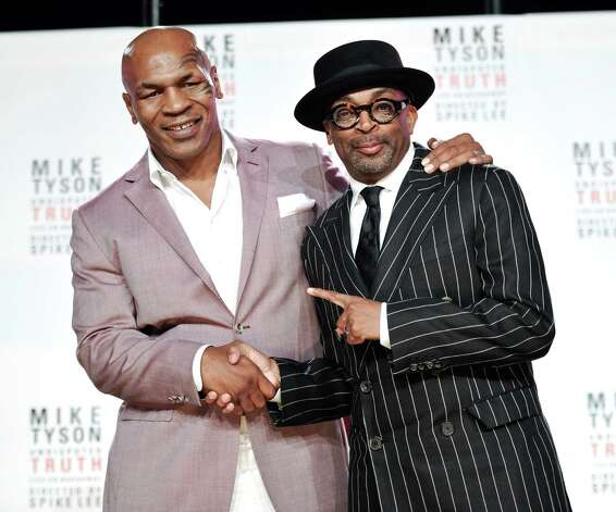 Mike Tyson with Spike Lee