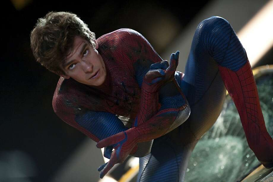"Andrew Garfield  in ""The Amazing Spider-Man."" Photo: Sony Pictures"