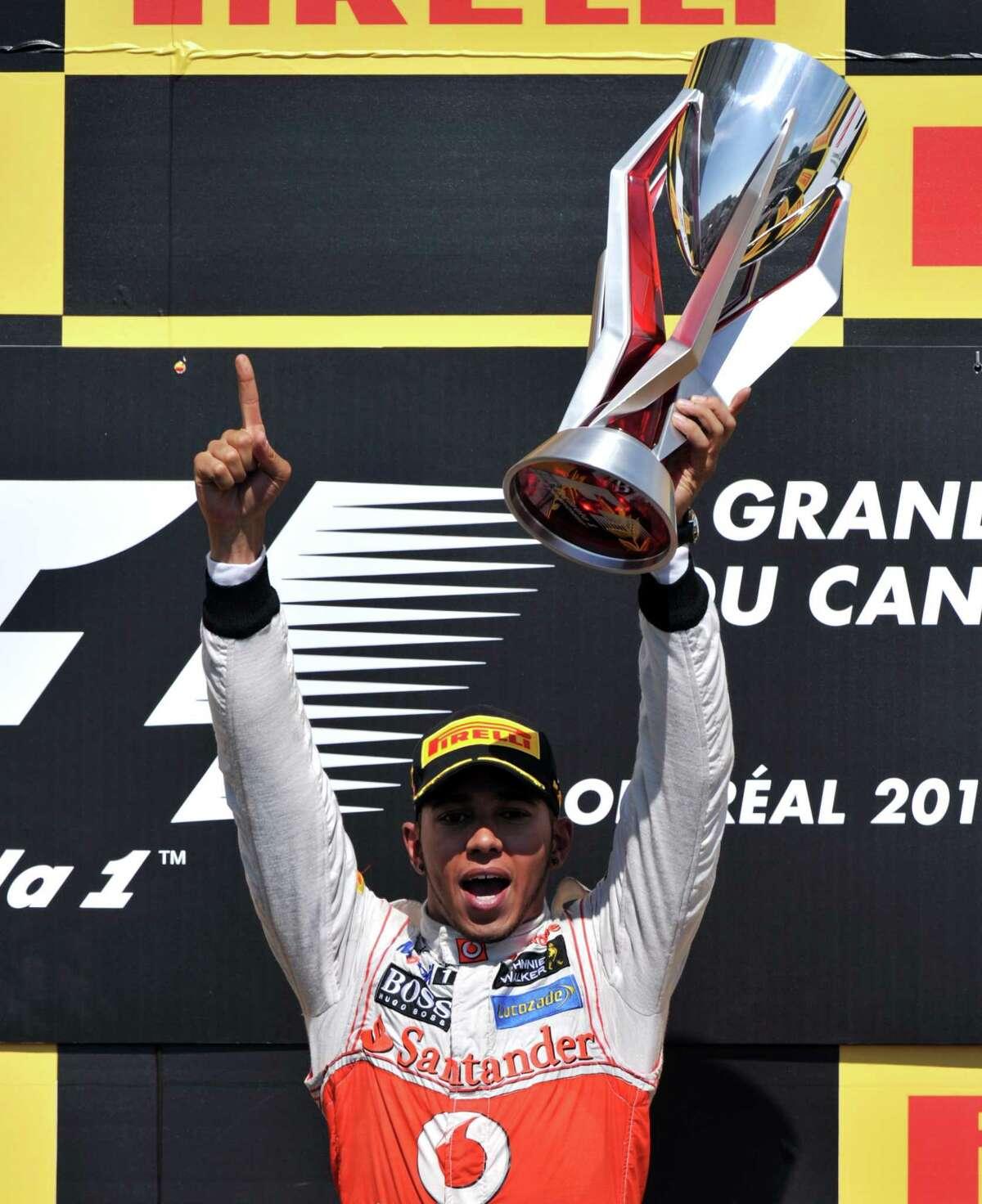 Tie - No. 24 Lewis Hamilton Sport: Auto racingTotal earnings: $28 million Salary/winnings: $25 million Endorsements: $3 million Photo: STAN HONDA, AFP/Getty Images / AFP ImageForum