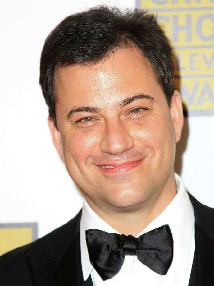 Jimmy Kimmel attends the Broadcast Television Journalists Association Second Annual Critics' Choice Awards at The Beverly Hilton Hotel on Monday. Photo: Frederick M. Brown, Getty Images For Critics Choice / 2012 Getty Images