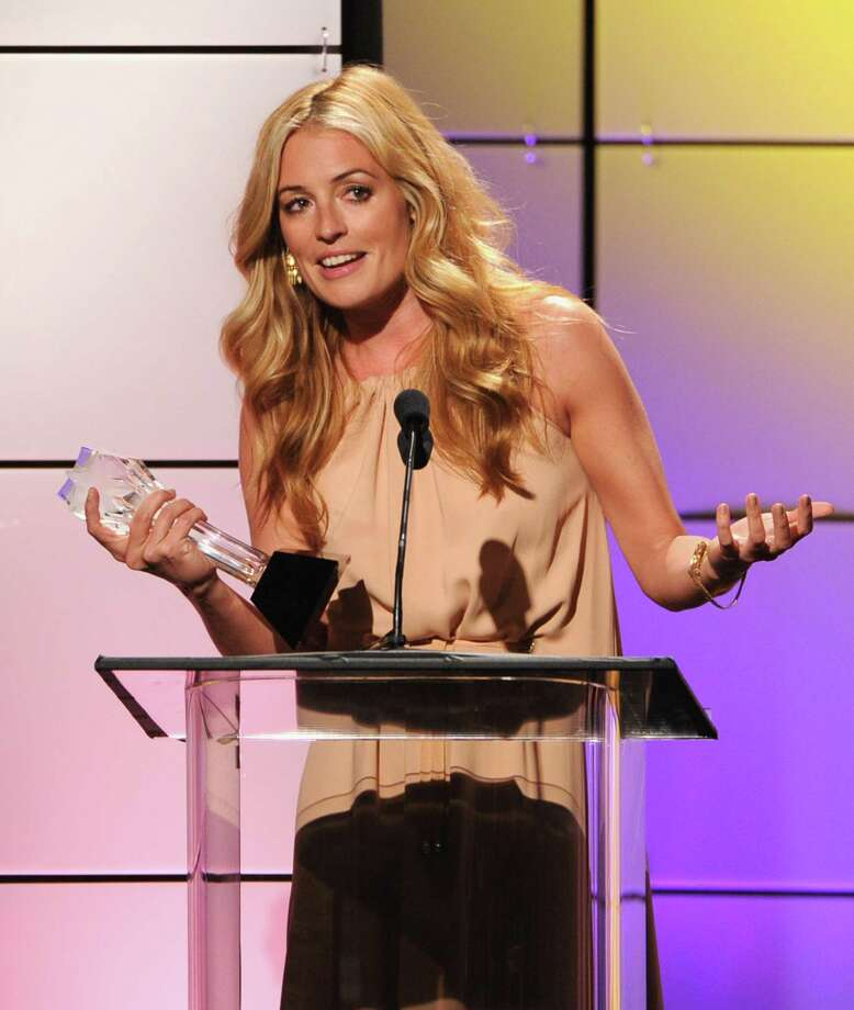 "TV personality Cat Deeley accepts the award for ""Best Reality Show Host "" onstage during The Broadcast Television Journalists Association Second Annual Critics' Choice Awards at The Beverly Hilton Hotel on Monday. Photo: Kevin Winter, Getty Images For Critics Choice / 2012 Getty Images"