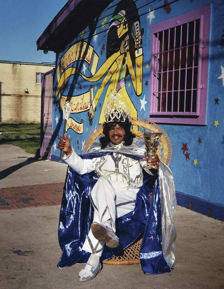 Emperor Ernie K-Doe at his Mother-In-Law Lounge; New Orleans Photo: Pat Jolly, Photo By Pat Jolly / ©2001, Pat Jolly