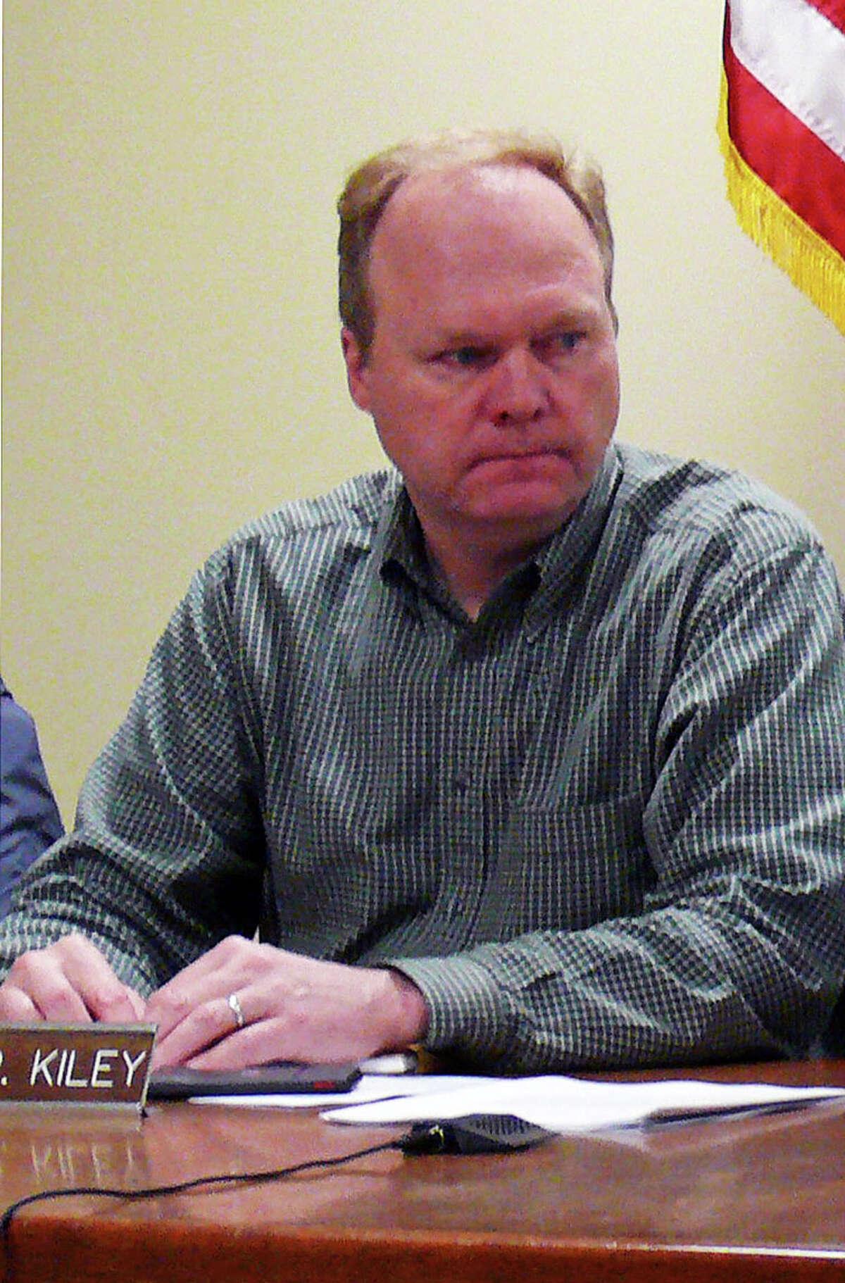 Board of Finance member Kevin Kiley is interested in taking James Walsh's seat on the Board of Selectmen.