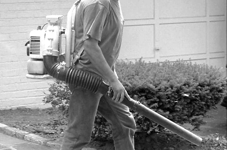 The RTM refused to allow a partial, 31-day leaf blower ban during the month of August. Some are not happy with that decision. Photo: Contributed Photo / Greenwich Citizen