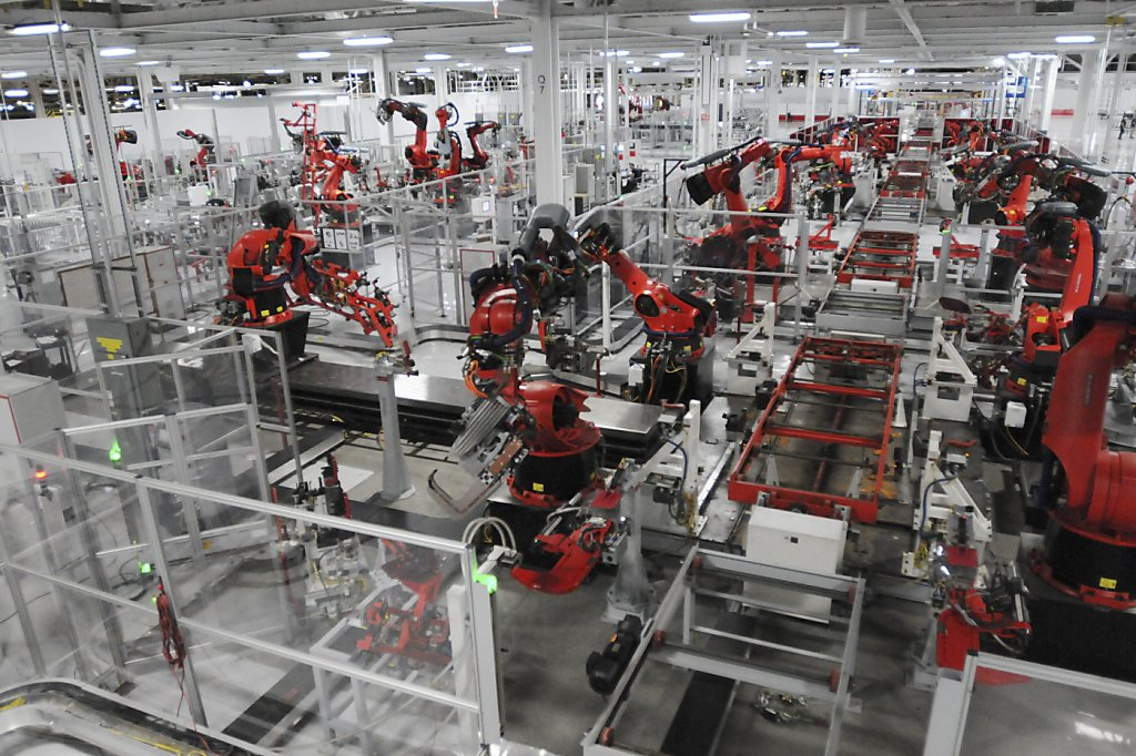 Unions Press For Place With Tesla Sfgate