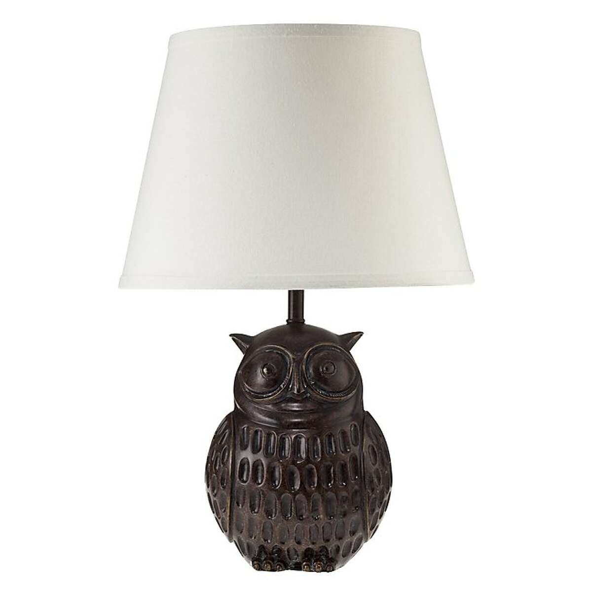 Less: $39 Linen and Resin Owl Lamp from Target (target.com)