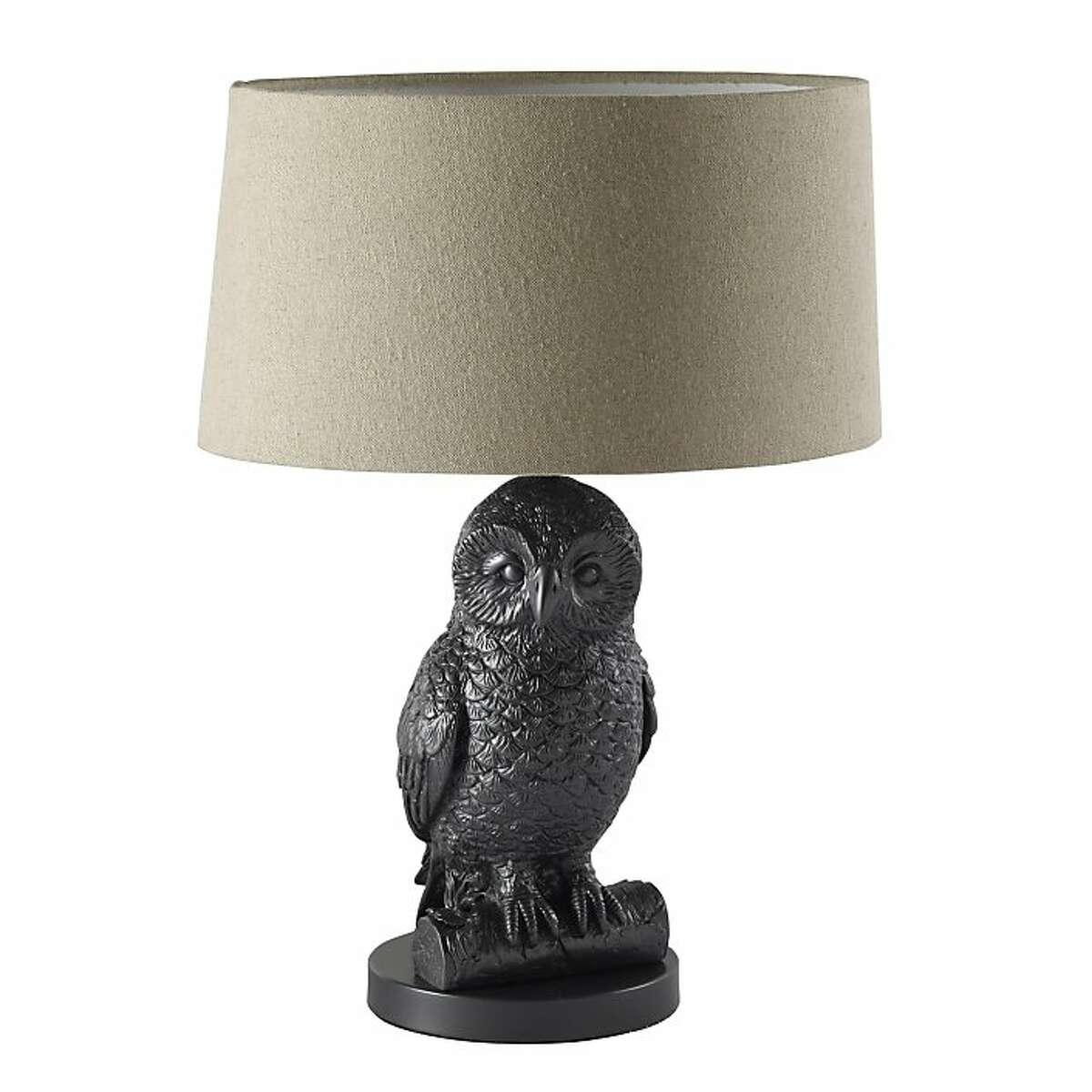 More: $99 Owl Table Light from West Elm (westelm.com)