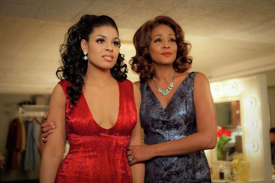 "Jordin Sparks, left, and Whitney Houston star in the upcoming film ""Sparkle."" Their duet from the film, ""Celebrate,"" features the duo's lighthearted chemistry. Photo: Alicia Gbur, HOEP / © 2012 Stage 6 Films, Inc. All Rights Reserved **ALL IMAGES ARE PROPERTY OF SONY PICTURES ENTERTAINMENT INC. FOR PROMOTIONAL USE"