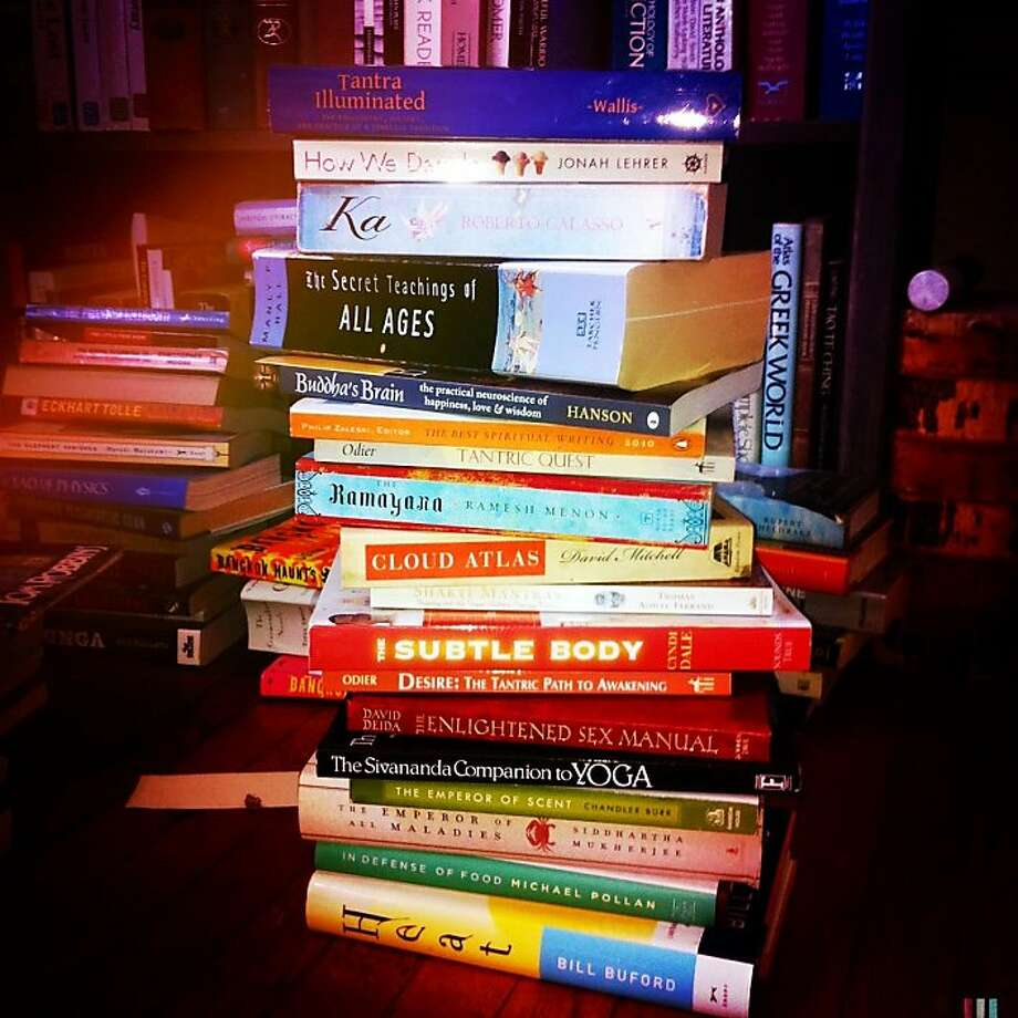 A wayward and wonderful summer reading list, 2012 style, hopefully not too neglected Photo: Mark Morford