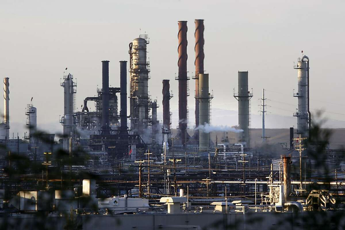 The Chevron refinery in Richmond, Calif., on Thursday, September 17, 2009, in Richmond, Calif. .