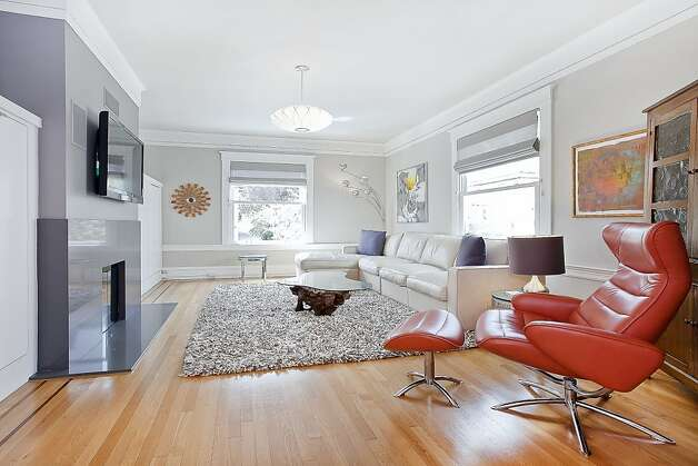 The home has hardwood floors throughout. Photo: OpenHomesPhotography.com