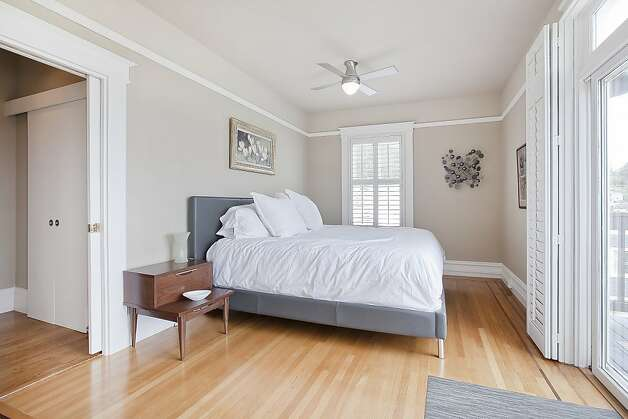 Another view of the master bedroom. Photo: OpenHomesPhotography.com