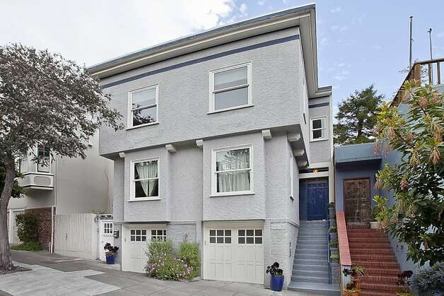 The home's address is 154 Carmel Street, San Francisco, and the asking price is $1.445 million. Photo: OpenHomesPhotography.com