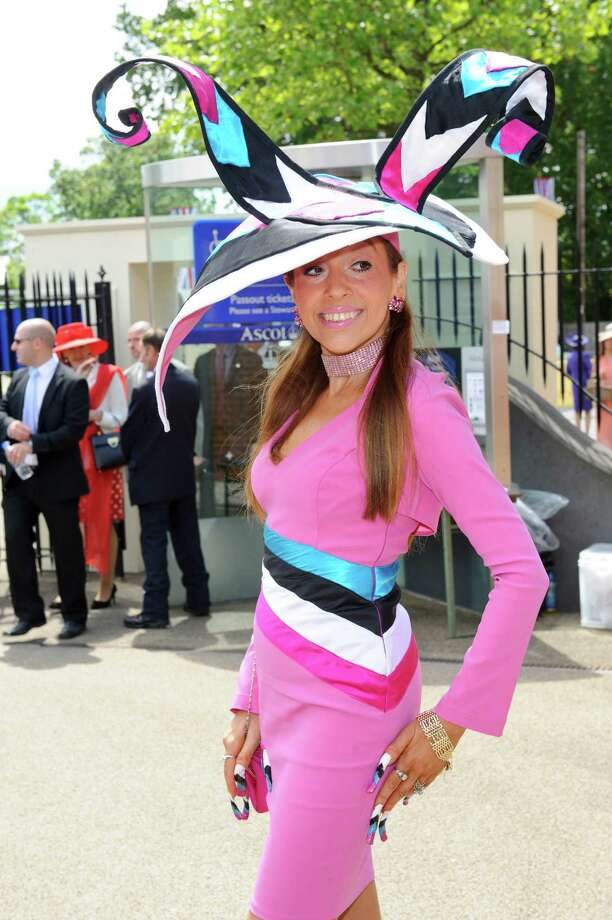 ASCOT, ENGLAND - JUNE 19:  Tracey Rose attends day one of Royal Ascot at Ascot Racecourse on June 19, 2012 in Ascot, England. Photo: Ben Pruchnie, Getty Images / 2012 Getty Images