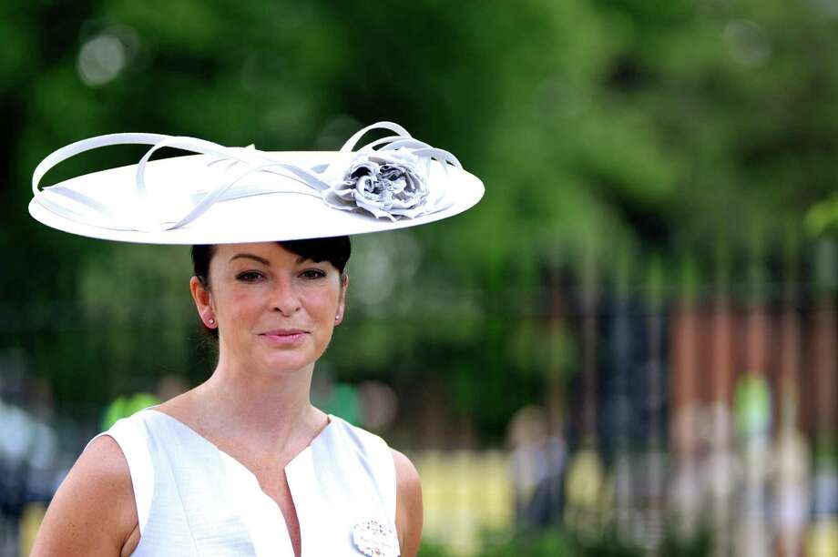 ASCOT, ENGLAND - JUNE 19:  Suzi Perry attends day one of Royal Ascot at Ascot Racecourse on June 19, 2012 in Ascot, England. Photo: Ben Pruchnie, Getty Images / 2012 Getty Images