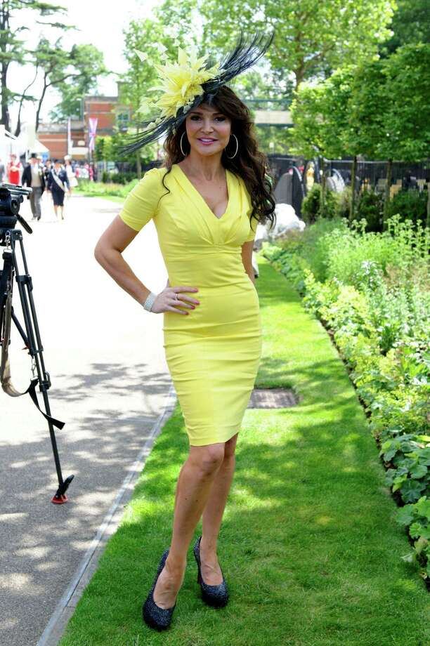ASCOT, ENGLAND - JUNE 19: Lizzie Cundy attends day one of Royal Ascot at Ascot Racecourse on June 19, 2012 in Ascot, England. Photo: Ben Pruchnie, Getty Images / 2012 Getty Images