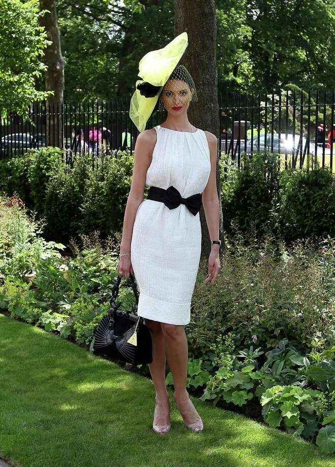 ASCOT, ENGLAND - JUNE 19:  A racegoer attends day 1 of Royal Ascot at Ascot Racecourse on June 19, 2012 in Ascot, England. Photo: Danny Martindale, Getty Images / 2012 Getty Images