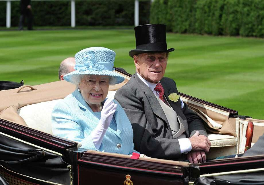ASCOT, UNITED KINGDOM - JUNE 19:  Queen Elizabeth II and Prince Philip, Duke of Edinburgh attend day one of Royal Ascot at Ascot Racecourse on June 19, 2012 in Ascot, England. Photo: Eamonn McCormack, Getty Images / 2012 Getty Images