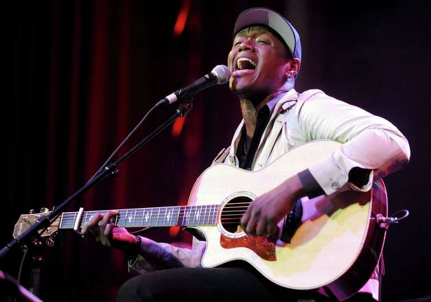 Javier Colon perform at Alive@Five in Stamford on Thursday, July 26. Photo: Tim Mosenfelder, Getty Images For Live In The Vin / 2011 Getty Images