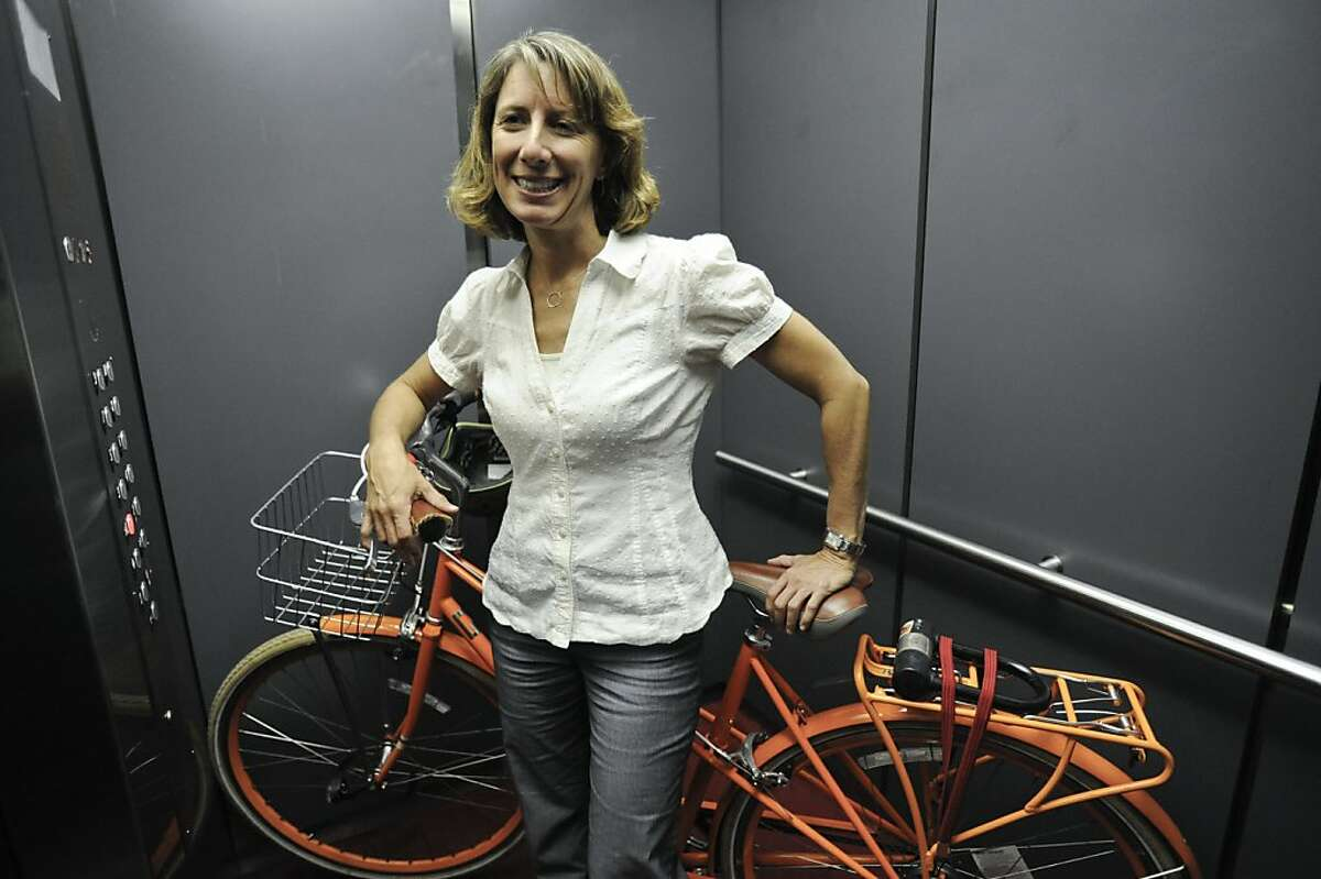 Leah Shahum, executive director of the San Francisco Bicycle Coalition.
