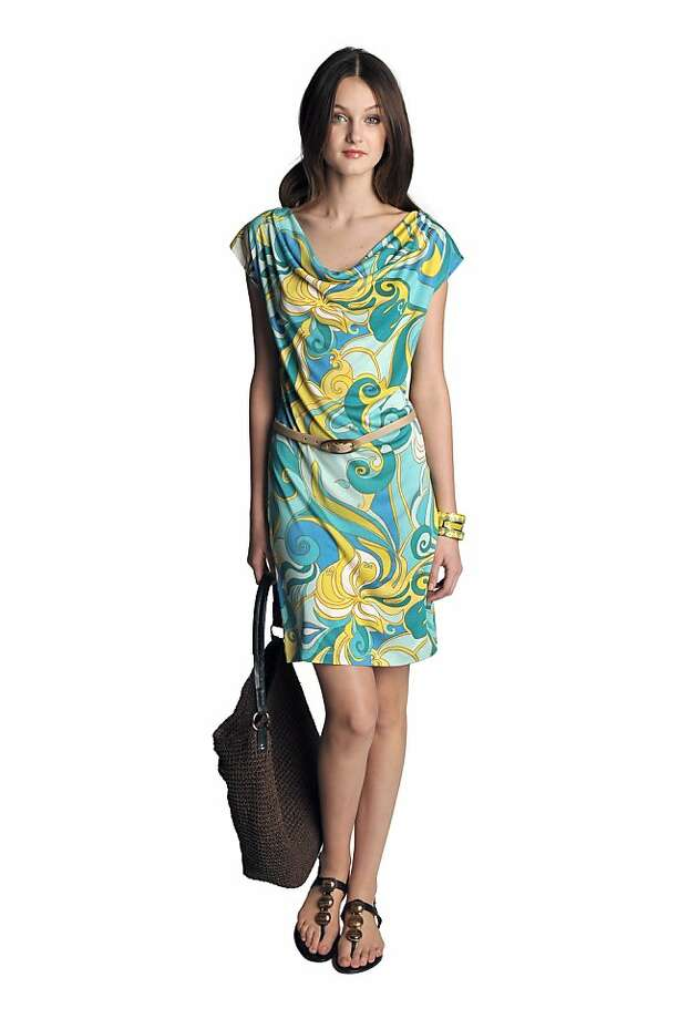 Looks from Trina Turk's limited-edition collection for Banana Republic. Photo: Banana Republic