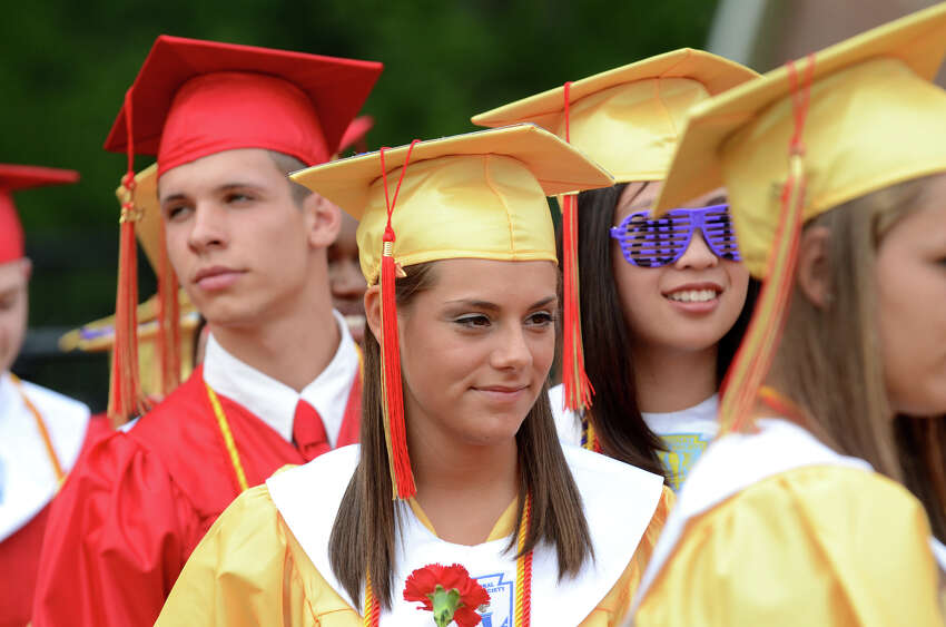 Stratford High School's 123rd Commencement at Penders Field in Stratford on Tuesday, June 19, 2012.