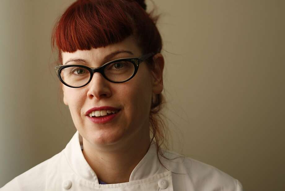 Michelle Polzin, pastry chef at Range restaurant in San Francisco, Calif., on December 2, 2008. Photo: Craig Lee, The Chronicle