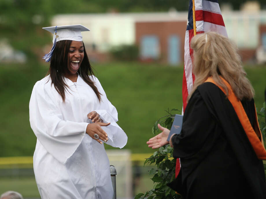 Frank Scott Bunnell High School graduation exercises in Stratford on Tuesday, June 19, 2012. Photo: Brian A. Pounds / Connecticut Post