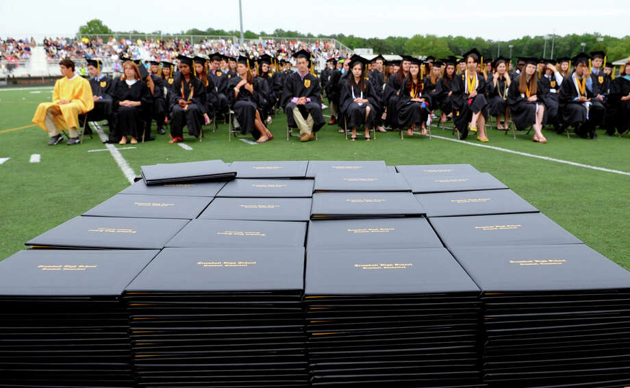 Highlights from Trumbull High School's Class of 2012 Commencement Exercises in Trumbull, Conn. on Tuesday June 19, 2012. Photo: Christian Abraham / Connecticut Post