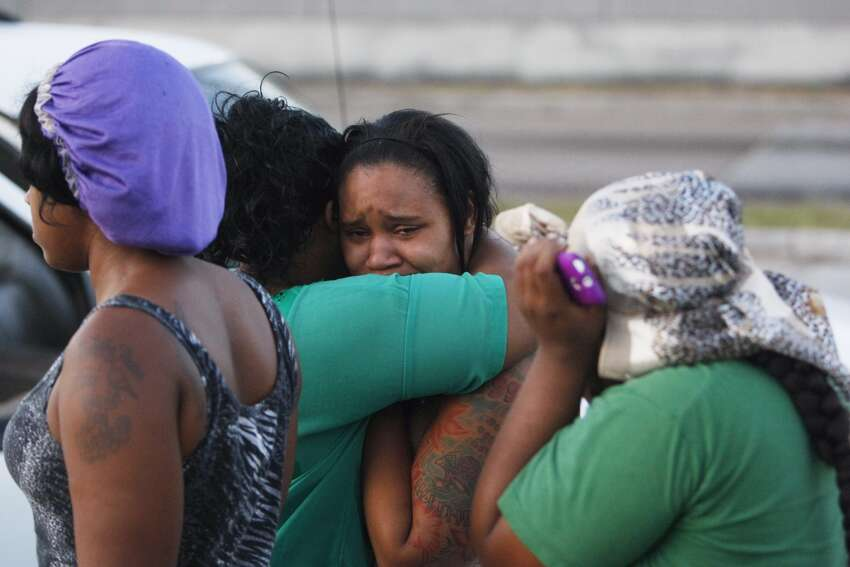 Three people were killed and a popular Houston rapper injured in a shooting in the parking lot of a strip center near a gentleman's club in southwest Houston. The shooting happened about 3:30 a.m. at 9850 Westpark near Tanglewilde. Witnesses said the shooting occurred when people were coming out of Club Blue after a Trae Tha Truth concert. Witnesses said Trae the Truth was among those wounded.