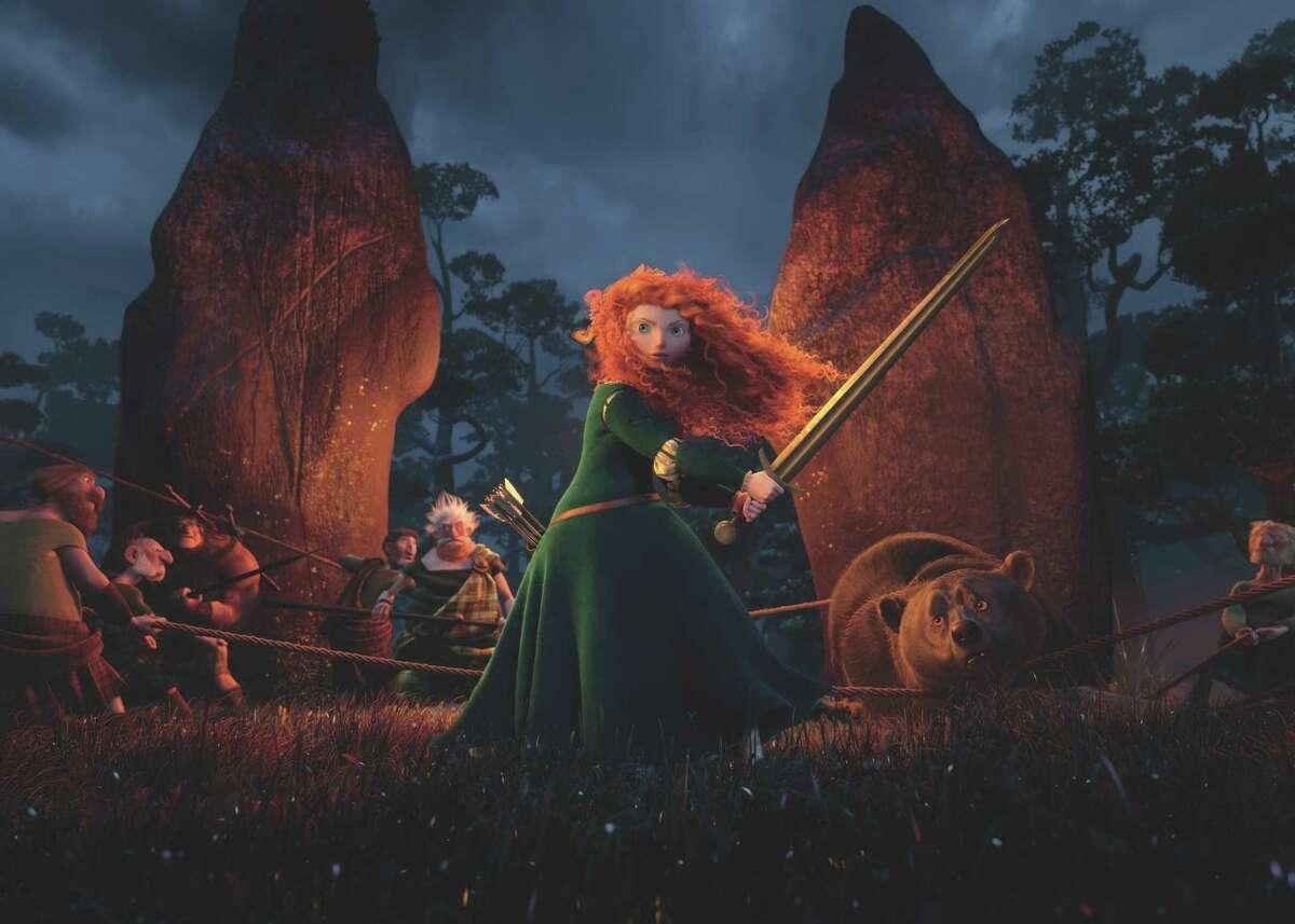 ?BRAVE? (Pictured) MERIDA. ©2012 Disney/Pixar. All Rights Reserved.