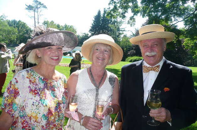 "The annual Greenwich Branch of the English Speaking Union Garden Party held at the Malcolm Pray estate celebrating ""The Queen's Birthday and Diamond Jublilee,"" on June 17, 2012. Photo: Anne W. Semmes"