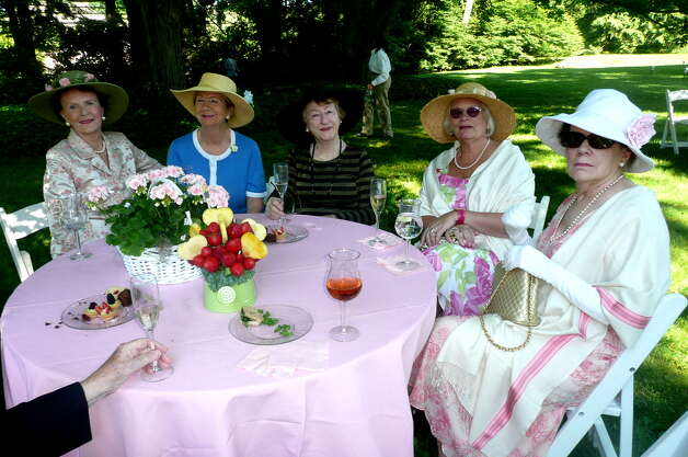 "The annual Greenwich Branch of the English Speaking Union Garden Party held at the Malcolm Pray estate celebrating ""The Queen's Birthday and Diamond Jublilee,"" on June 17, 2012. Photo: Picasa, Anne W. Semmes"