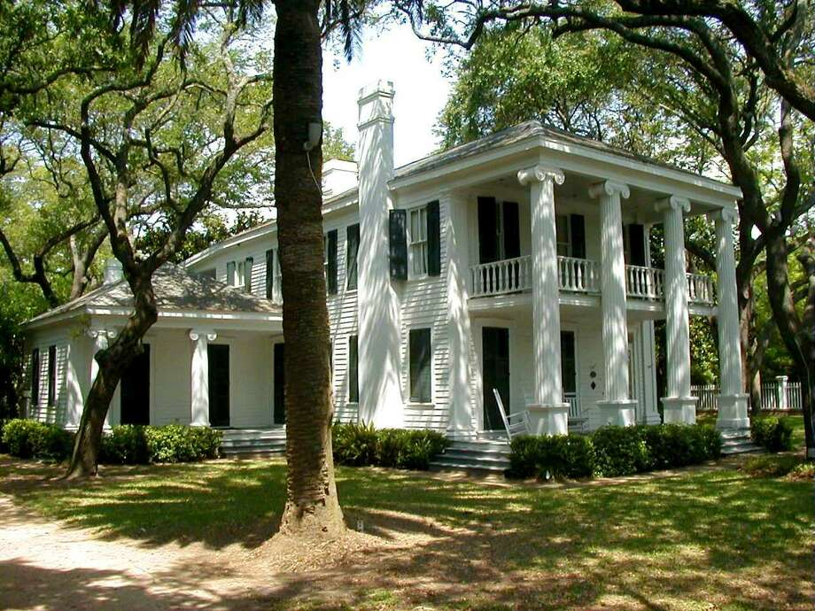Michel B. Menard House Built in 1838, the house is Galveston's oldest residential dwelling. The home's owner during the 19th century was John Sydney Thrasher, who held seances at the house for the public to attend. Photo: Courtesy Photo