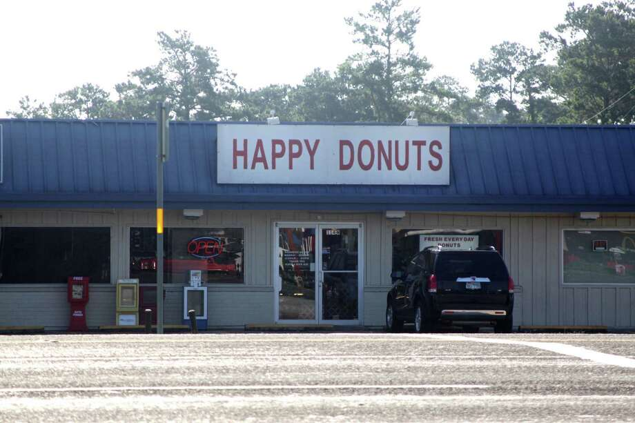 The Lumberton Police Department is asking for the public's help in identifying two males who robbed this Happy Donuts location on Main Street in the city. The robbery occurred at approximately 5:00 a.m. Tuesday morning. If you have any information, you are encouraged to call Lumberton PD at 409-755-2650 Photo: David Lisenby, HCN_Happy Robbery