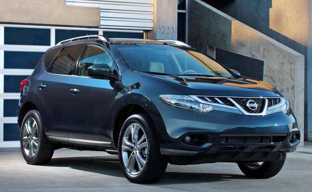 The 2012 Nissan Murano has a roomy, comfortable interior, decent performance, and a long list of standard and optional amenities. Photo: Mike Ditz, Courtesy Of Nissan North America Inc. / ©2010MikeDitz 310-994-0307