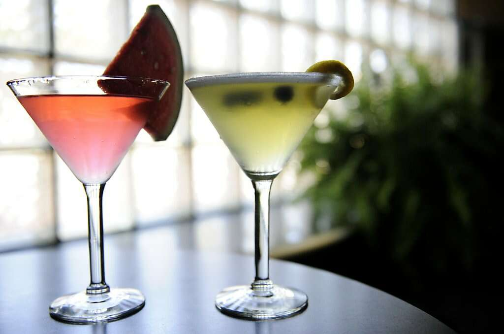 A Watermelon Martini And A Lemon Drop Are Among The Drink Specialties At  Martuniu0027s. Photo