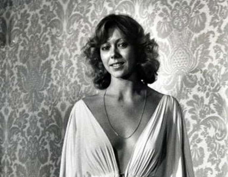 Jenny Agutter (above) -- She was in AN AMERICAN WEREWOLF IN LONDON and had an interlude with David N