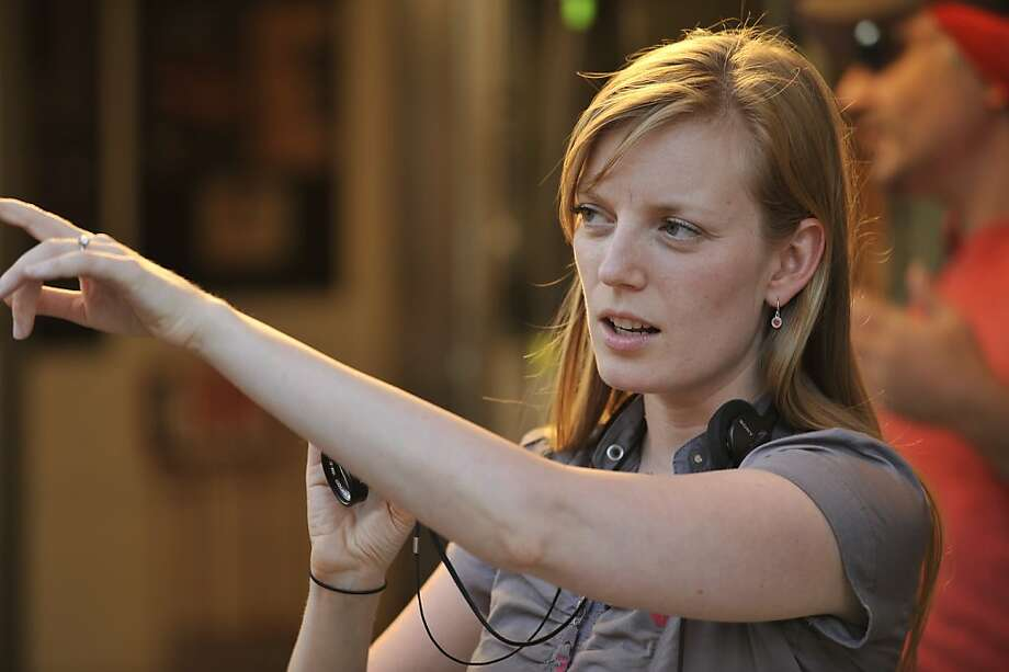 "Director Sarah Polley on the set of ""Take This Waltz."" Photo: Magnolia Pictures"