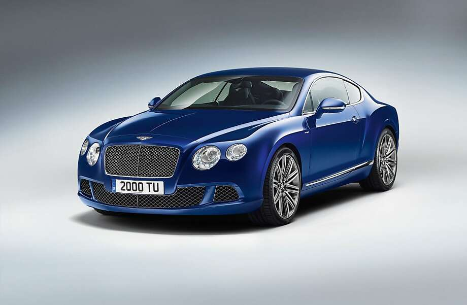 Bentley is introducing a new performance flagship, its fastest production model ever, the Continental GT Speed coupe. The new 205 mph (329 km/h) GT Speed will appeal to driving enthusiasts who place a high value on outright performance, agile handling, distinctive design and sporting luxury. Photo: Bentley Motors