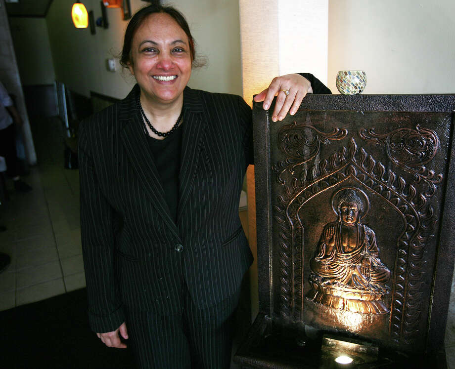 Anterpreet Kaur, co-owner of Saffron Indian Cuisine at 333 Westport Avenue in Norwalk on Wednesday, June 20, 2012. Photo: Brian A. Pounds / Connecticut Post