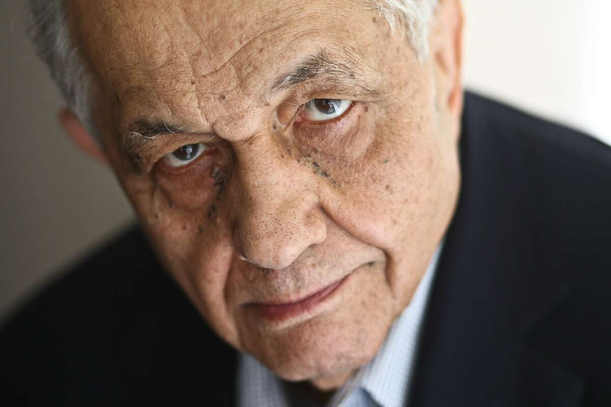 This July 2, 2009 image shows film critic Andrew Sarris in his apartment in New York. Sarris, a leading movie critic during a golden age for reviewers who popularized the French reverence for directors and inspired debate about countless films and filmmakers, died Wednesday, June 20, 2012 at St. Luke's-Roosevelt Hospital in Manhattan after complications developed from a stomach virus. He was 83. (AP Photo/The New York Times, Fred R. Conrad) MANDATORY CREDIT: Fred R. Conrad/The New York Times