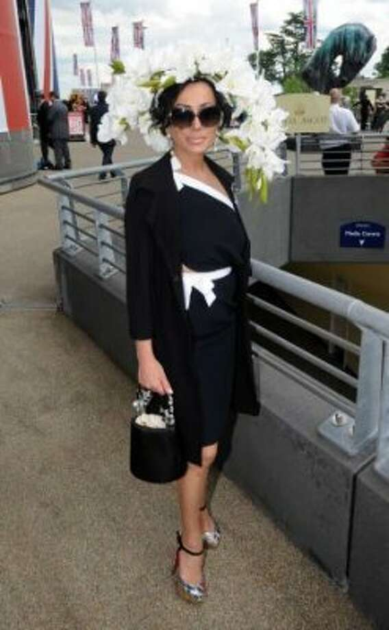 ASCOT, UNITED KINGDOM - JUNE 19: Nancy Dell'Olio attends day one of Royal Ascot at Ascot Racecourse on June 19, 2012 in Ascot, England. (Eamonn McCormack / Getty)