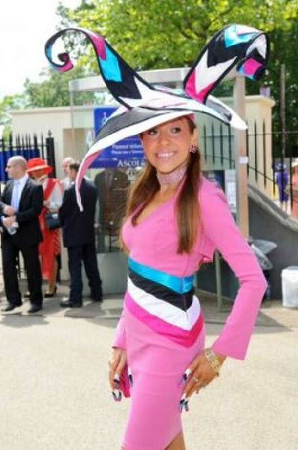 ASCOT, ENGLAND - JUNE 19: Tracey Rose attends day one of Royal Ascot at Ascot Racecourse on June 19, 2012 in Ascot, England. (Ben Pruchnie / Getty)