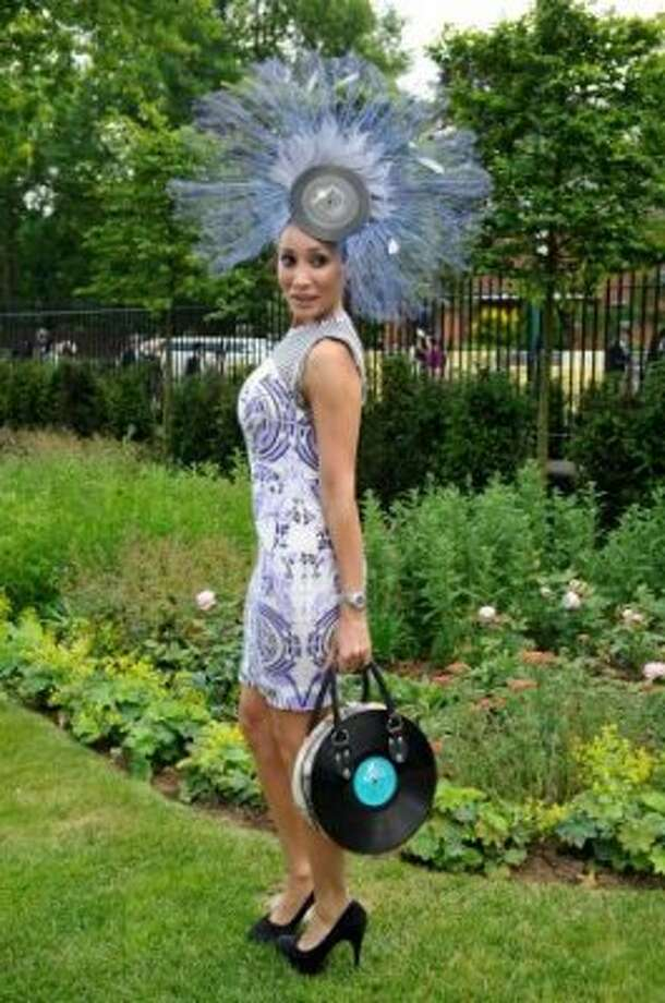 ASCOT, ENGLAND - JUNE 19: Sofia Hayat attends day one of Royal Ascot at Ascot Racecourse on June 19, 2012 in Ascot, England. (Ben Pruchnie / Getty)