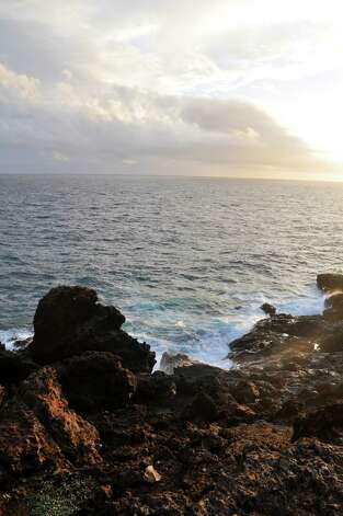 Sunrise at Colorado Point in Aruba. Photo: Melissa Ward Aguilar